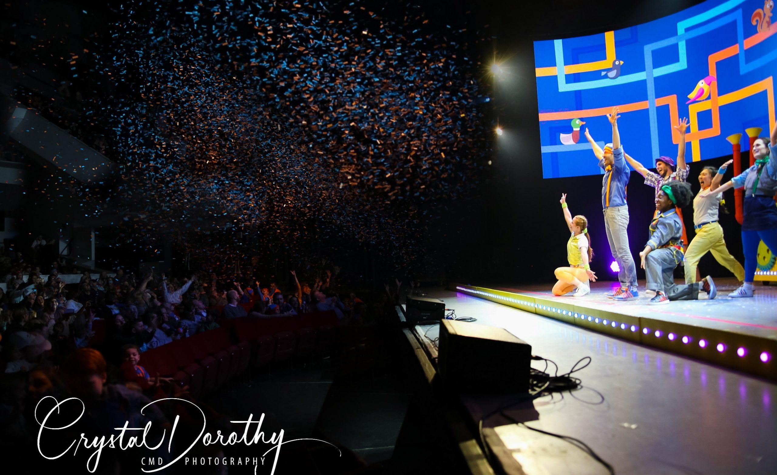 Blippi Live Preview Confetti